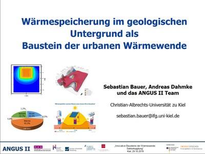 KiWi_Wärmespeicherung im geologischen Untergrund als Baustein der urbanen Wärmewende