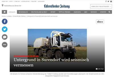 Seismische Messungen in Surendorf_Eckernförder Zeitung